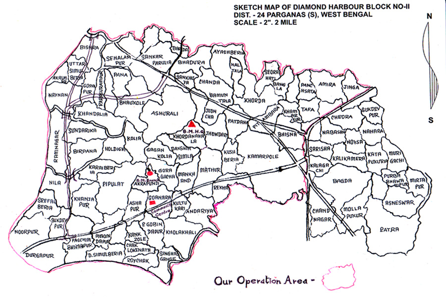 BaniMandir Service Map